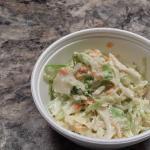 NOT creamy coleslaw