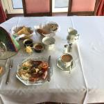 A fine breakfast