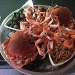 Un plateau de fruits de mer à la terrasse de L'Ecluse à Vertou, que du bonheur !