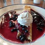 Blueberry Crepe @ Bob Evans