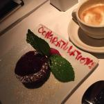 Such a sweet gesture and delicious dessert!