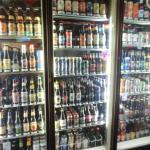 The beer fridge