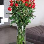Bouquet fleurissant l'appartement à votre arrivée