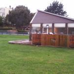 Hot tubs ubicados en el sector del SPA
