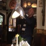 Helm als Lampe