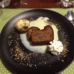 Entrée, plat, dessert du menu à 23€ un délice.
