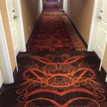 Hallway... crazy fun carpet?