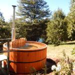 tina agua caliente