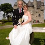 Our beautiful wedding day in a fairytale setting