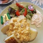my coronation chicken jacket potato
