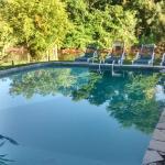 Pool at morning