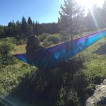 Lots of great places to hike to, set up a hammock, and relax.