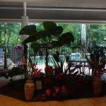 Open air foyer