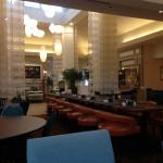 breakfast segment - bar to right - large dining area - great service - excellent chef ~