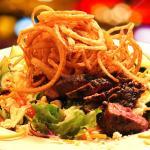 Gorgonzola Cheese Steak Salad