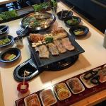 RM128 pork set + kimchi