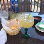Margaritas and Seafood Fajitas!