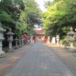 息栖神社 境内の参道