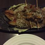 chiken steak sizzler