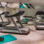 Taschenbergpalais Fitness room