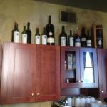 Pane Vino - wines on shelf