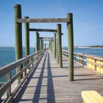 Private fishing pier