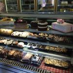 pastry case next door