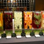 Juice buffet bar for private events