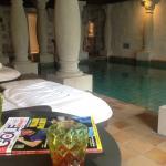 Viagusta Reisen - Gourmets unterwegs : Pool - Alexander Herrmann`s Romantik Posthotel