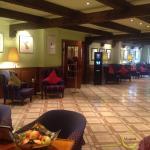 Viagusta Reisen - Gourmets unterwegs : Hotelhalle von Alexander Herrmann`s Romantik Posthotel