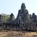 One of the temple sites near Angkor Wat