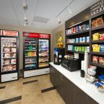 Candlewood Cupboard with Snacks and Beverages