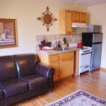 Kitchens in select rooms