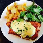 Waffle Benny every week end brunch, a must try !
