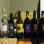 Their products- Grappa, Olive Oil, White and Red Wines