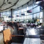 Панорамный зал ресторана