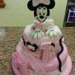 This is a Birthday cake for a 1 year old