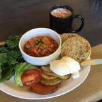 Veggie classic with gluten-free English muffin!