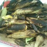 Roasted Corn for our Guest on 4th of July