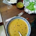 soupe et nems