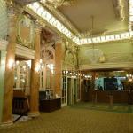 Amazing foyer, room so so