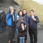 Dave showing us the joy of real Irish ice cream at the Cliffs of Moher 😊