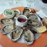 9 Oysters on the half shell