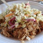 pork and coleslaw