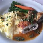 Studded Chicken Portobello