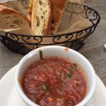 Tomato Dipping Sauce w/ 2 Different Breads