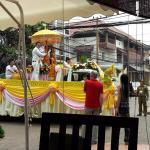 Watching Pii Mai parade