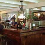 This Deetjen's Big Sur Inn Restaurant has a full bar
