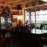 One of the dining areas at the Deetjen's Big Sur Inn Restaurant