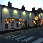 The Foresters Arms at night